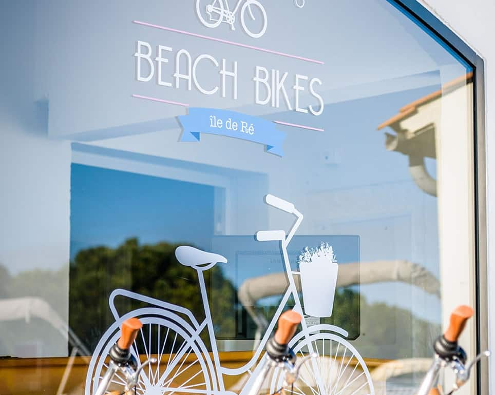 boutique beach bikes Ile de Ré