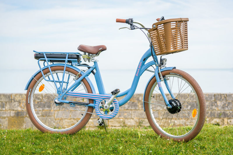 Vélo électrique moteur avant