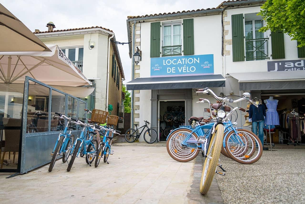location de vélos Saint Martin de ré