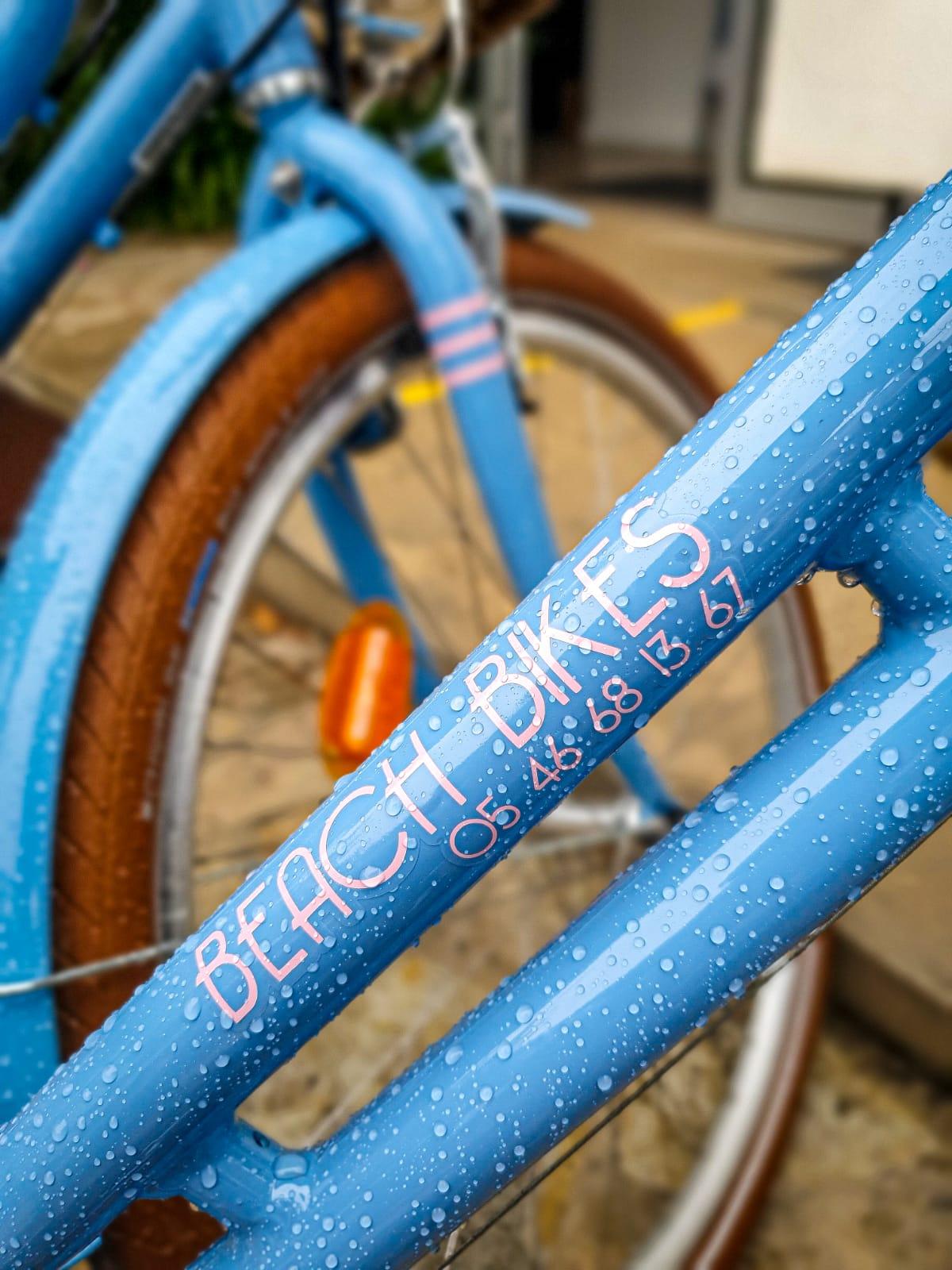 Beach Bikes les vélos bleus