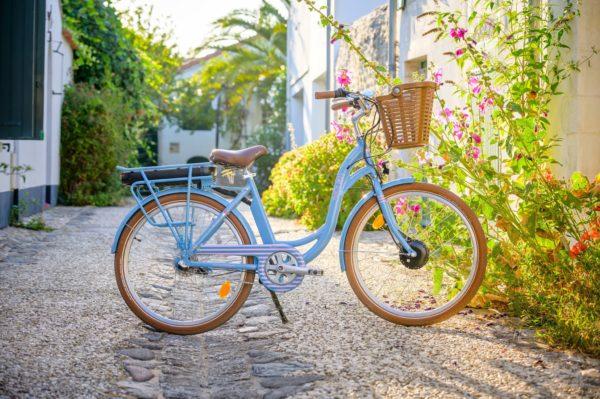 vélo électrique sur L'ile de Ré
