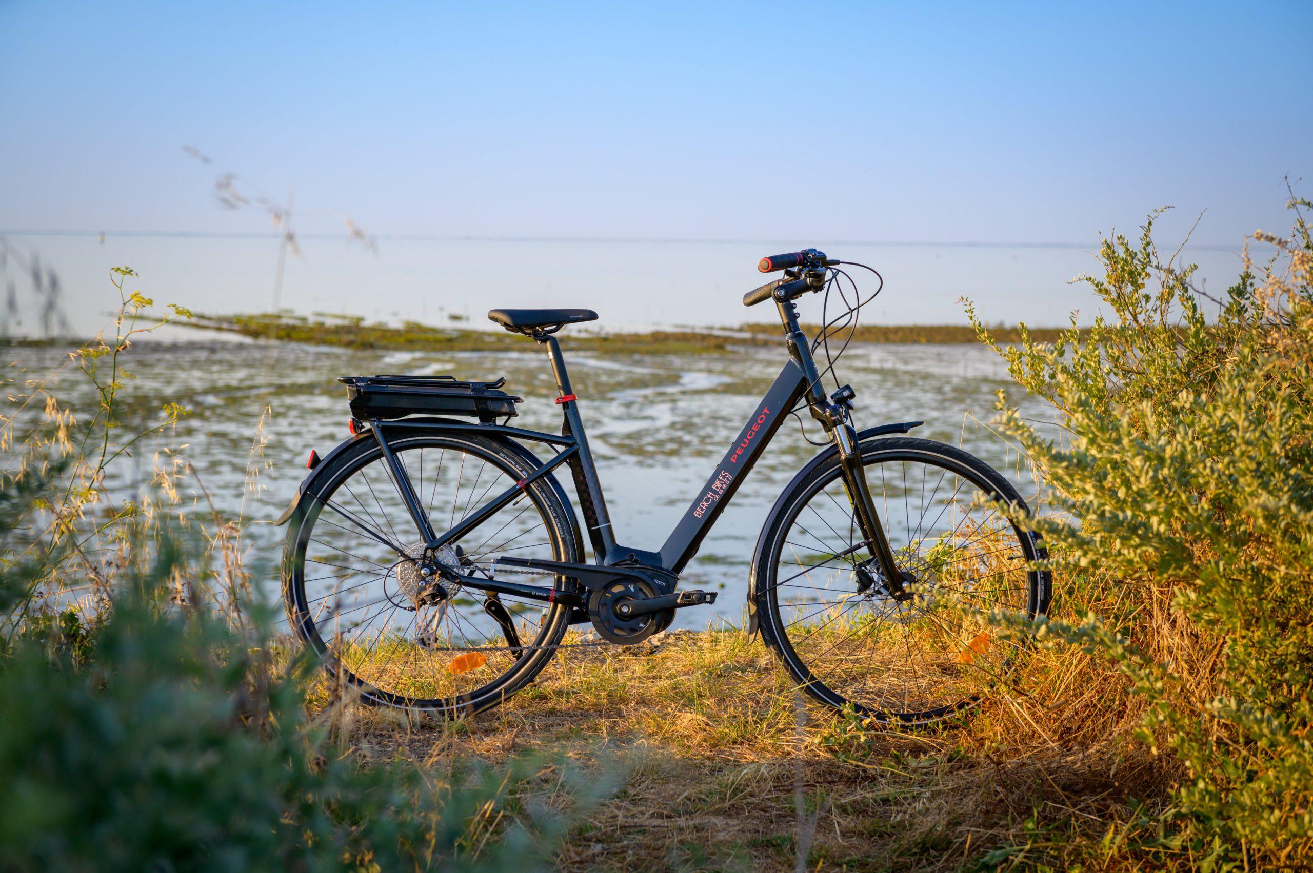 Vélo électrique premium Peugeot Cycle Beach Bikes