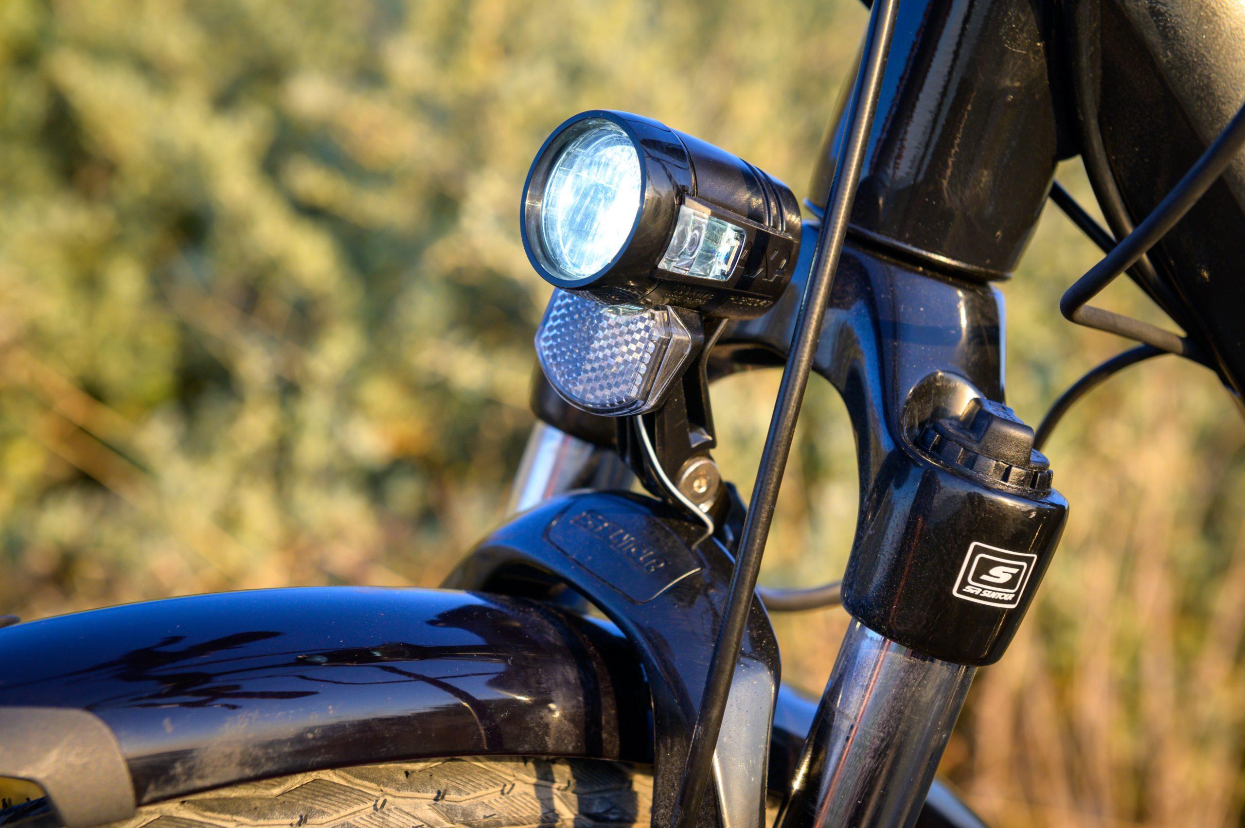 Lumière avant vélo Ile De Ré