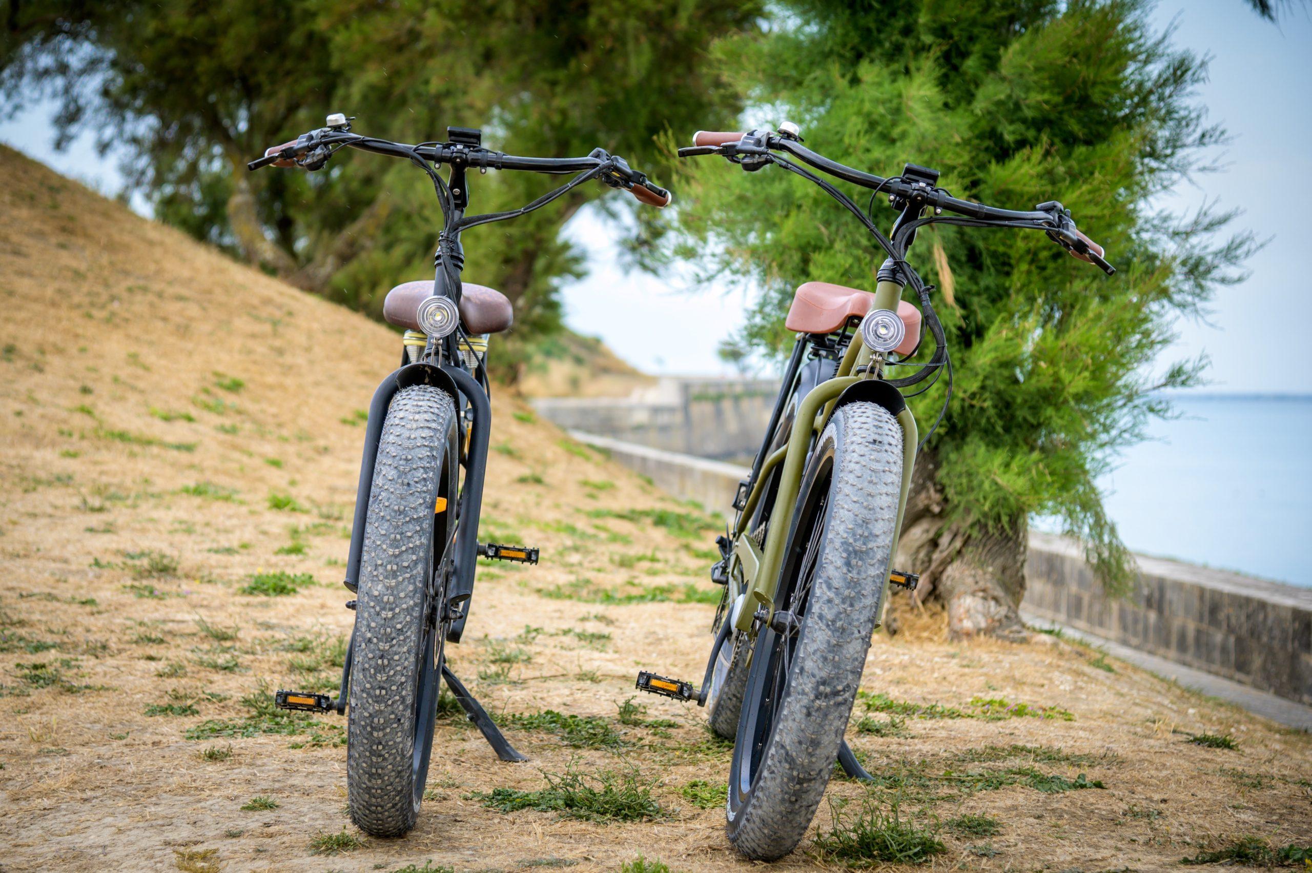 location fatbike électrique beach bikes