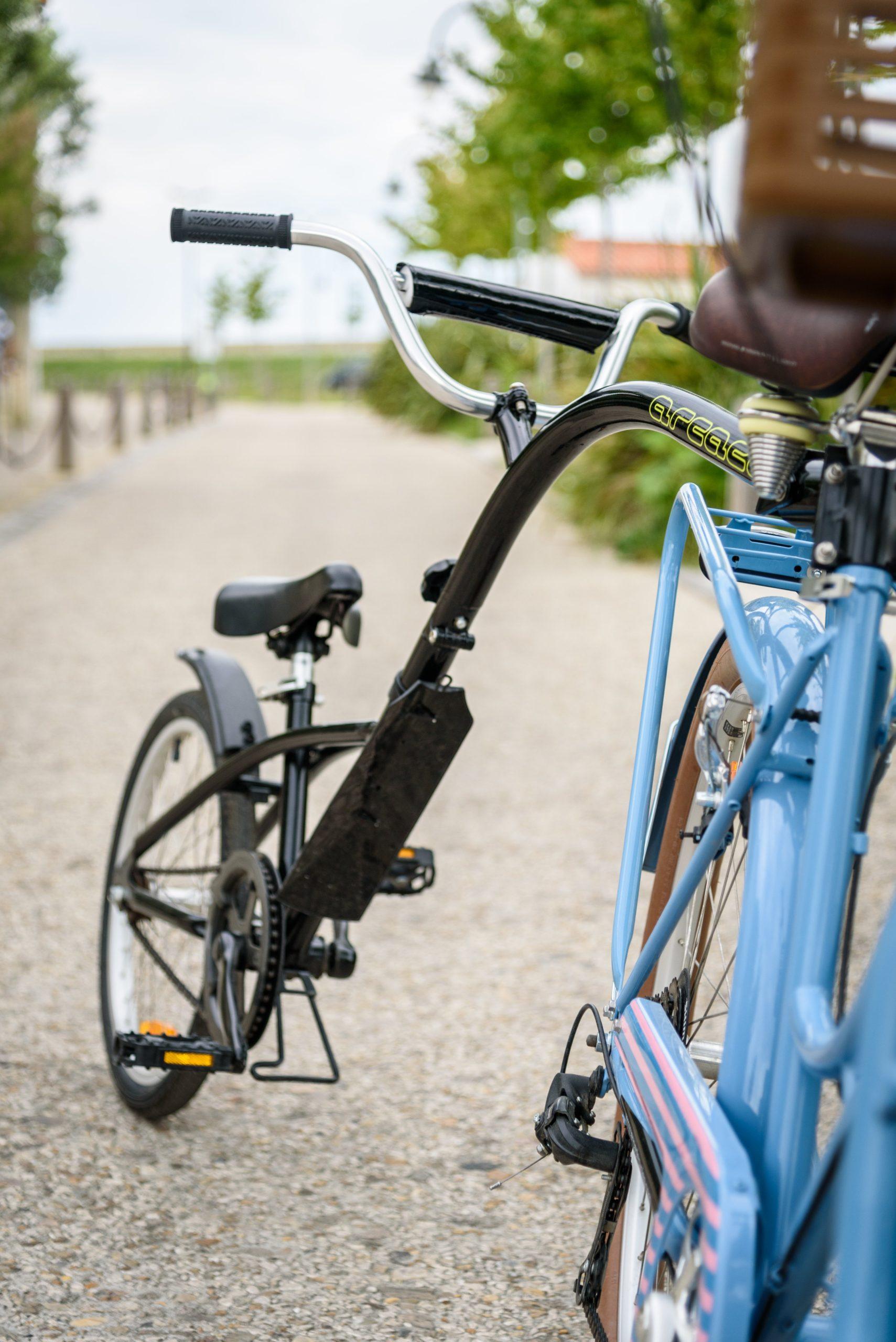 suiveur enfant vélo beach bikes
