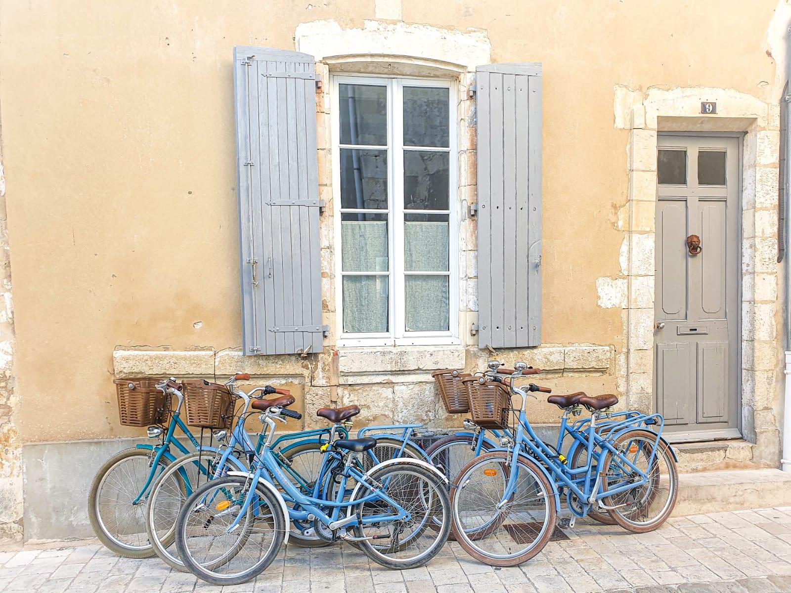 Vélos Beach Bikes sur L'ile de Ré