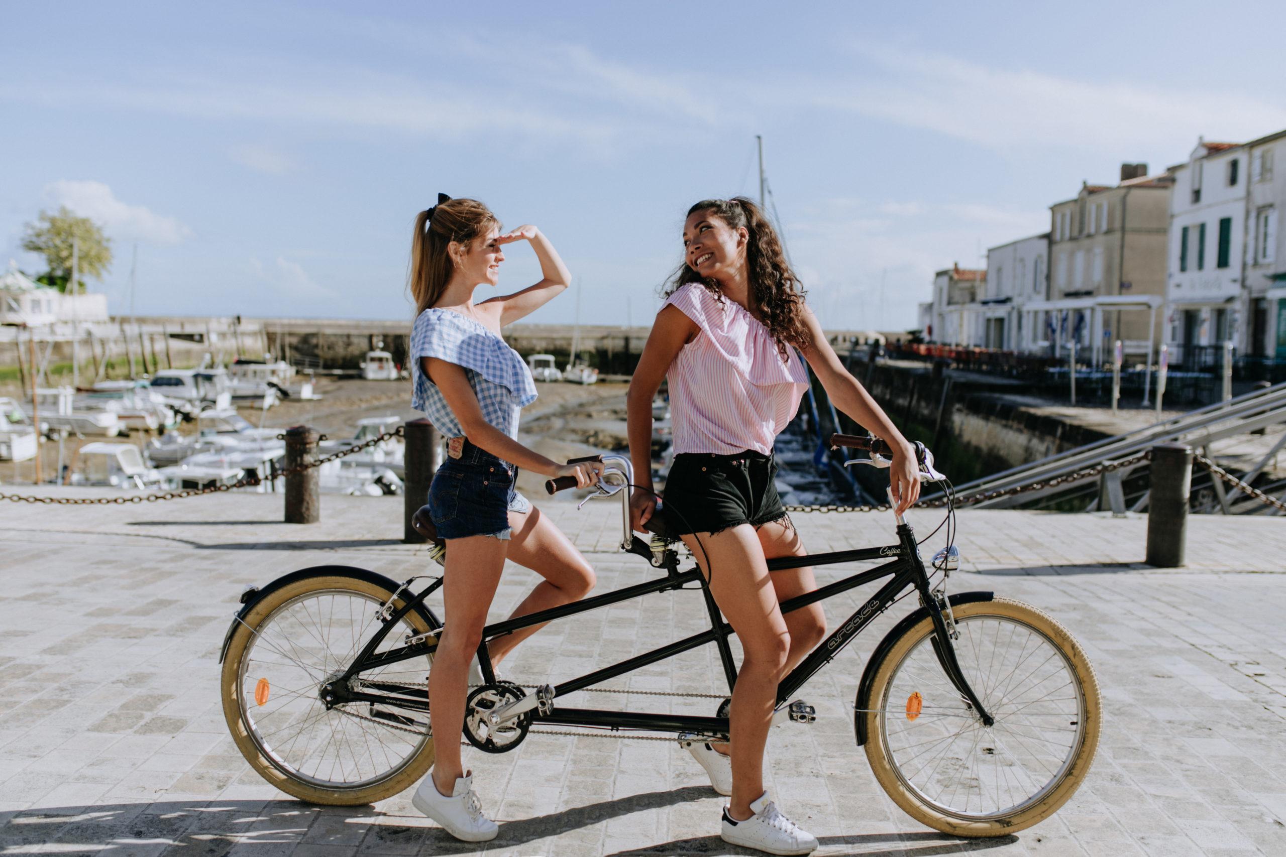 tandem - Ile de Ré - Beach Bikes