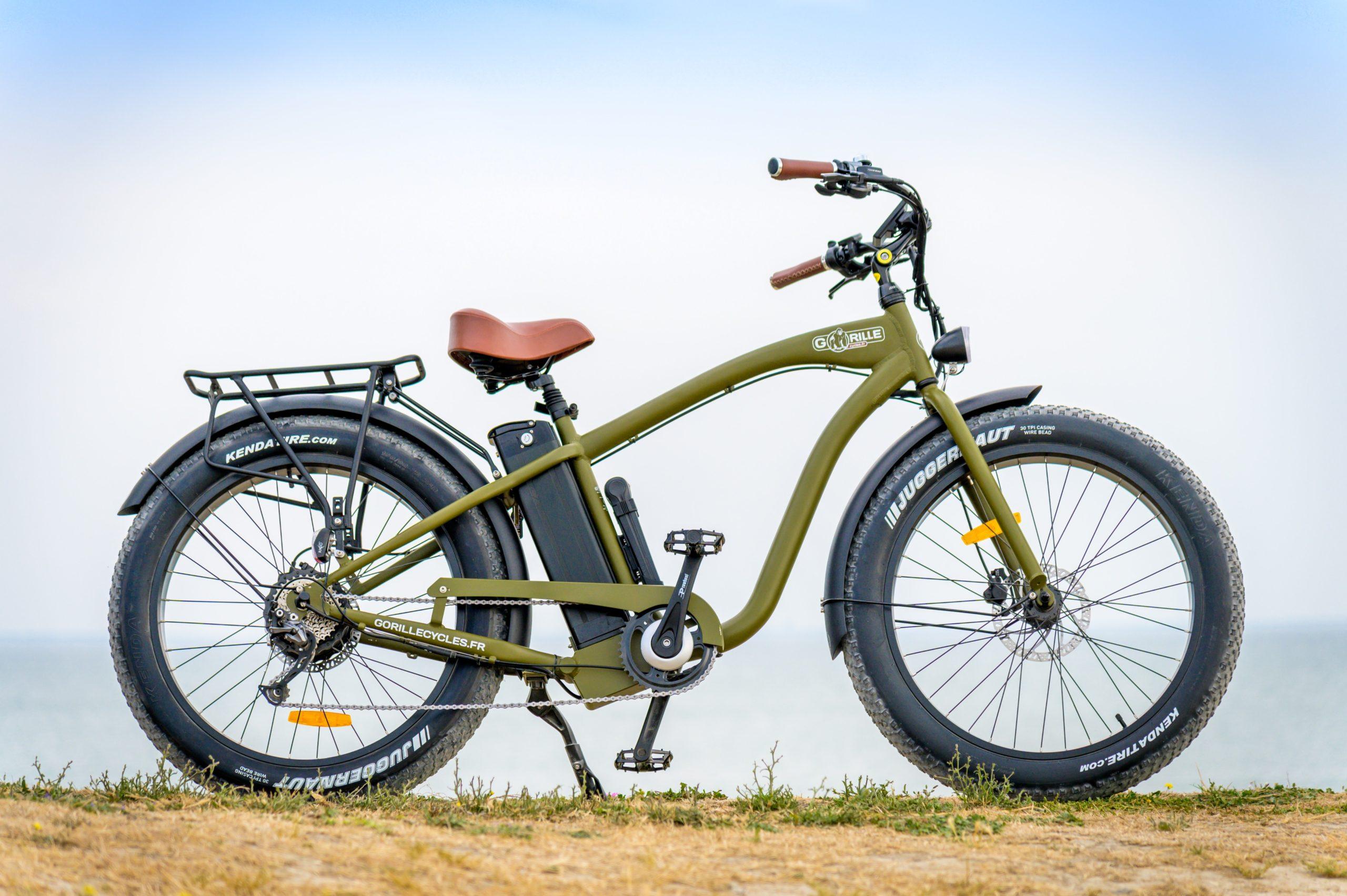 fatbike - Ile De Ré - vélo électrique