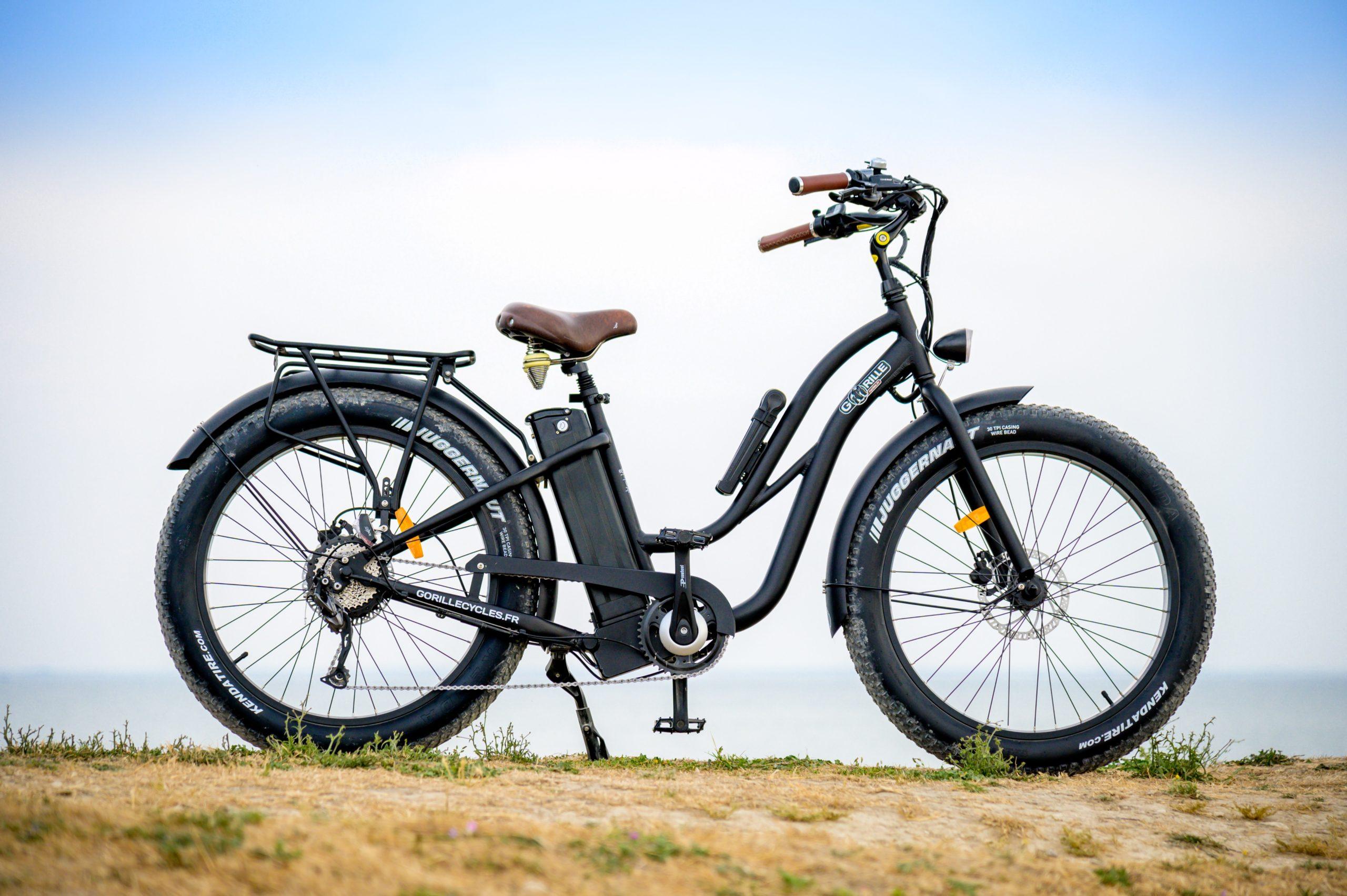 FatBike Electrique Ile de Ré - Marque Gorille Cycles
