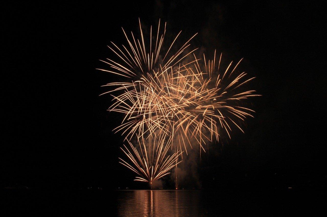 artifice - firework - flotte