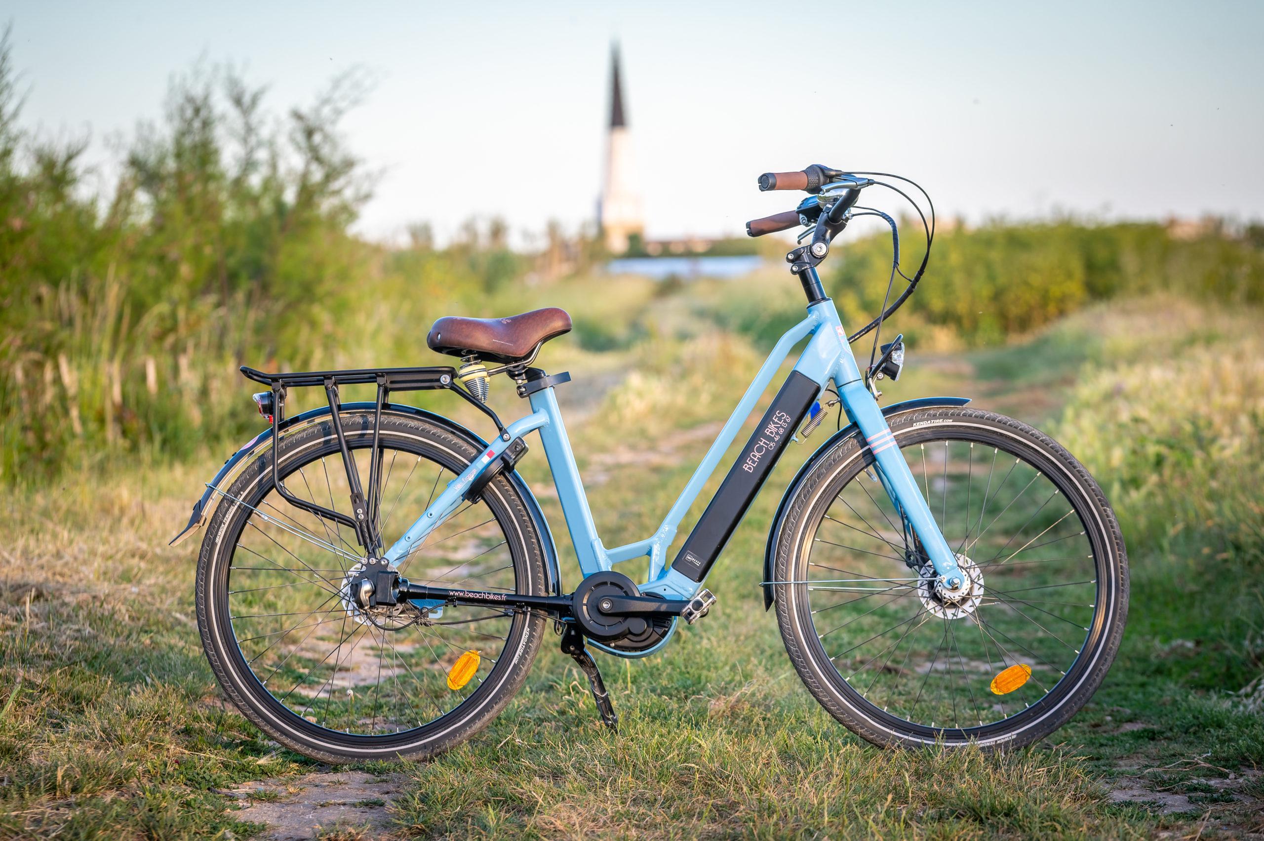 vélo - premium electrique - moka