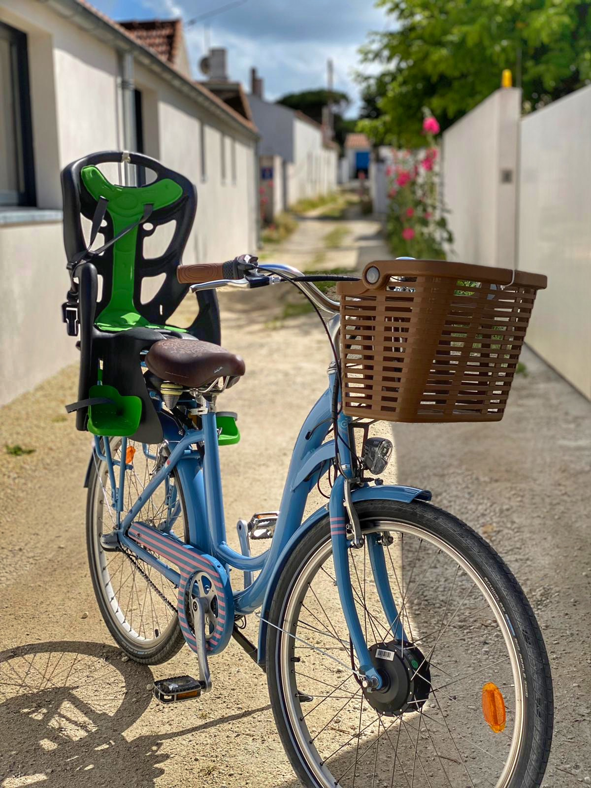 porte bébé vélo ile de ré - oléron - arcachon