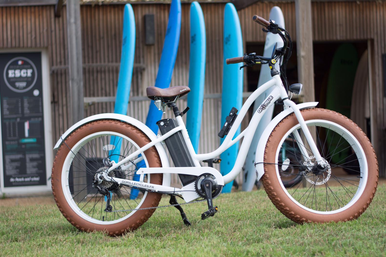 location fatbike seignosse beach bikes